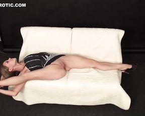The hottest naked yoga pose