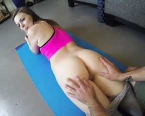 Yoga sex amateur POV porn workout