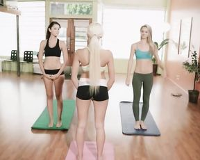 Hot yoga girls