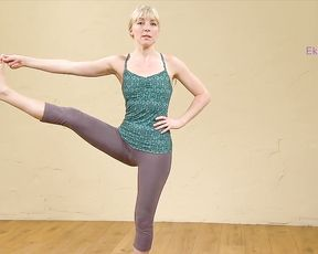 Hot yoga training