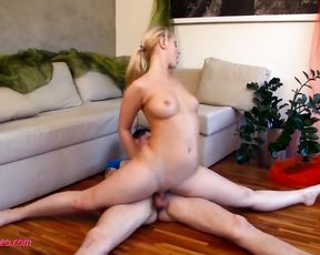 First-time flexible yoga sex
