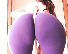 Best ass ever in tight yoga pants
