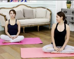 Korean yoga feet