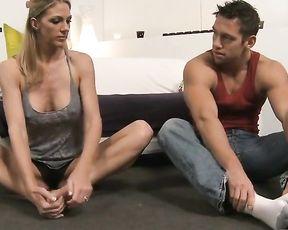 Sexy yoga porn vid