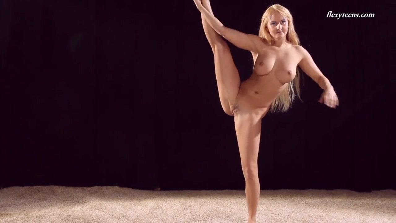 Big boobs gymnastics