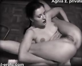 Black and white nude yoga porn fantasies