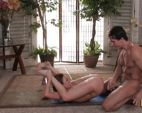 Naked yoga porn