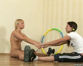 Lesbian yoga sex fantasies