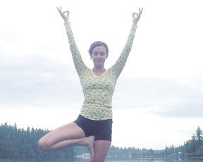 Hot yoga video tutorial