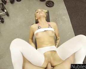 Exclusive gym sex video
