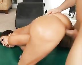 Gorgeous MILF gets banged by her horny yoga instructor while working out